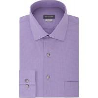 Van Heusen Men's Dress Shirt Regular Fit Stretch Check at  Men's Clothing store